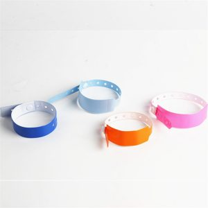 13.56mhz NFC Payment Bracelet RFID MF Classic 1 K Disposable PVC Wristband