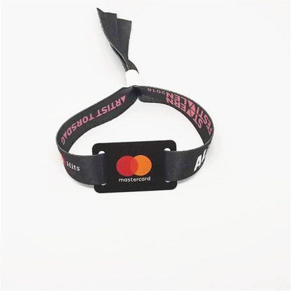 Woven RFID Wristband