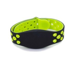 13.56mhz RFID Silicone Bracelet Fudan Compatible MF Classic 4K Program Rubber NFC Wristband