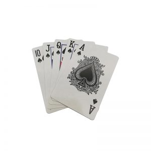 ISO15693 NFC Poker ICODE SLIX RFID Smart Playing Cards For Gaming Industry