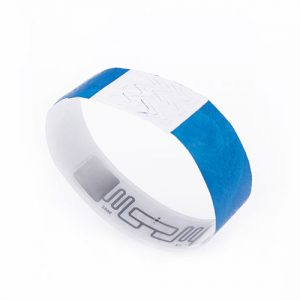 860-960mhz Hospital/event disposable UHF bracelet Alien H3 identification paper wristbands