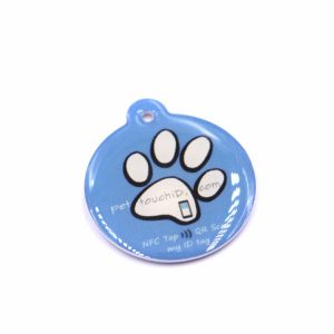 13.56mhz Rewritable RFID Epoxy tag With Ntag213 chip for Pet identification