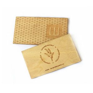 Printable RFID Wooden Business Card – Custom NFC VIP Card For Member