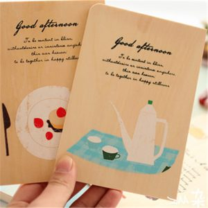 Eco-friendly Wooden NFC Smart Card With Fudan F08 1k Chip
