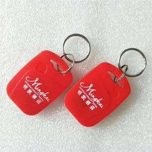 RFID Keyfob With EM 4305 Chip, 125 KHZ Keychain RFID Key Tag for hotel Access Control lock