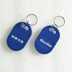 Proximity 125KHZ RFID Keychian, TK4100 RFID Keyfob Tag for Time Attendance