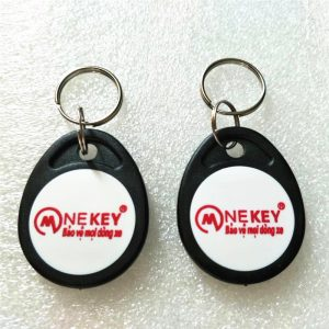 Programmable RFID Key Tag ,Cheap Price 13.56MHz IC RFID Key Fob With 1K Memory MF Chip