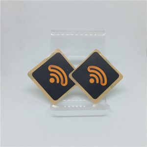 Programmable RFID Label Sticker With N-tag 215 Chip For Mobile phone