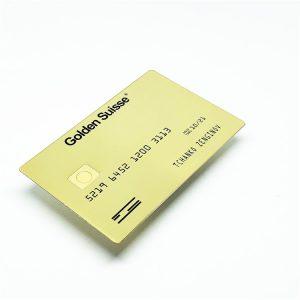 Custom metal card,Laser engraving metal business card blanks for club vip clients