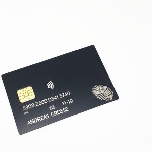 Metal loyalty card Stainless steel laser cut metal business card
