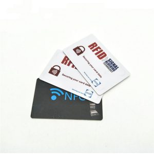 Cheap Price RFID Blocking Credit Card With Custom logo For Wallet Anti Signal