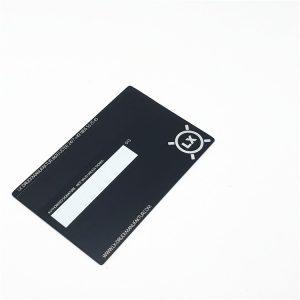 Metal loyalty card Stainless steel laser cut metal business card