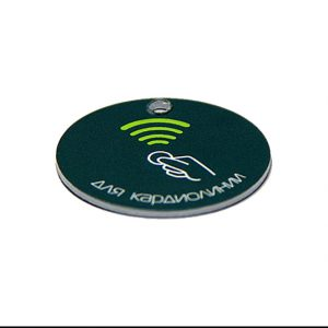 RFID Round Token Tag N-tag215 NFC smart coin card for chess club
