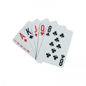 Custom 13.56MHz RFID Poker Cards Ultralight NFC Playing Cards For Casino Sale