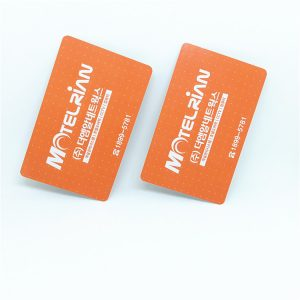 F08 RFID 13.56Mhz Re-writable Smart Card, 0.8mm Thin NFC Card For Access Control System
