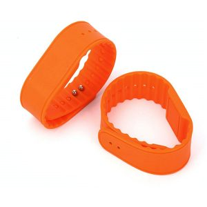 ISO11784/11785 Waterproof Silicone RFID wristbands EM4305 Multi color logo printing Bracelet