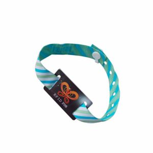 Charm Woven Bracelets MF Des-fire 4k chip Fabric NFC wristband for Anniversary Occasion