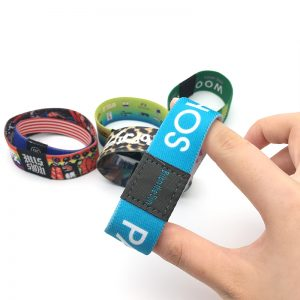 125khz TK4100 Fabric Elastic Bracelets for access control