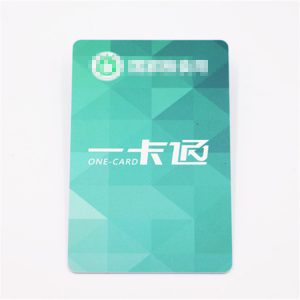 Programmable 125KHZ LF RFID Card With Hi-tag2 Chip For Property Identification