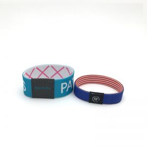 Desfire 2k 4k 8k EV1 EV2 NFC Smart Stretch Wristband RFID Fabric Elastic Bracelets for payment