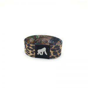 Custom heat transfer Printing T5577 RFID elastic fabric wristband program bracelet for event