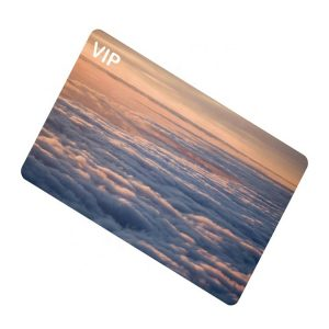 Waterproof RFID Smart Card With MF Classic 1k Chip For NFC Payment