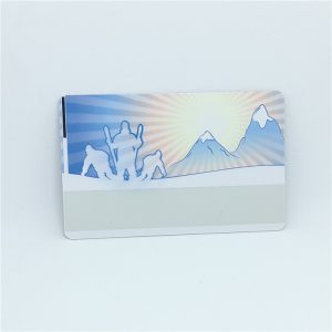 CMYK Printing LF RFID Card With Hitag1 Chip For ID Identification