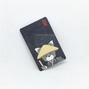 PET UHF RFID Card With M4E Chip Long Range Distance For Car Identification