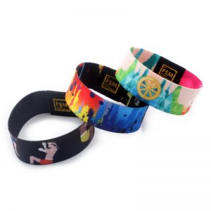ISO14443A MF Ultralight EV1 Stretch Bracelet NFC payment Elastic Wristband for cashless pos system