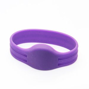 ISO14443A NTAG 215 504bytes Silicone RFID Smart Bracelet/Wristband