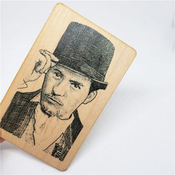 ntag216 wood card