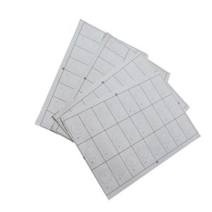 A4 Size 13.56MHZ MIFARE Classic 4K RFID Prelam Inlay Sheet