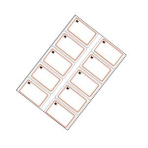 13.56MHz Fudan F08 1K RFID PVC Inlay Sheets For Smart Card Making