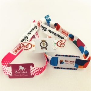 Hot sale Tk4100 ID Bracelet cloth woven festival wristband