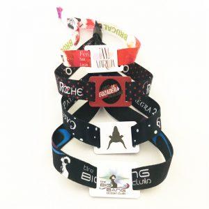 Program T5577 fabric Bracelet ID Re-write woven Wristband for entrance