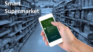 How RFID technology works in smart supermarkets?