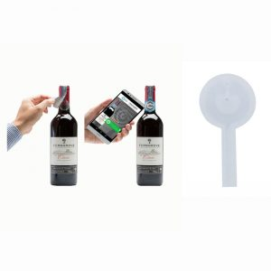 13.56mhz Fragile Label NTAG213TT NFC Chip Tag for Wine Anti-fake