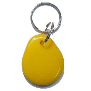Epoxy RFID Key fob, Proximity NFC Keychain With Mifare Classic 1k Chip