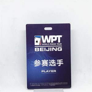 Custom PVC non standard card irregular shape die cut F08 M1 1k special festival event card with big size