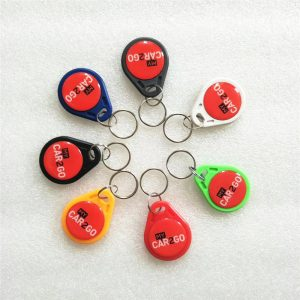 Passive Epoxy Mifare Plus 2K Chip RFID Key fob With Free Samples