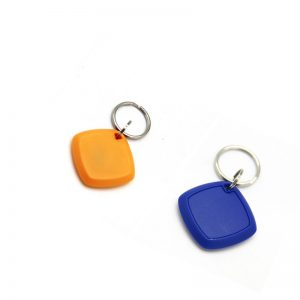 Custom Passive Fashionable RFID ABS Keyfobs With 125KHZ EM4200 Chip