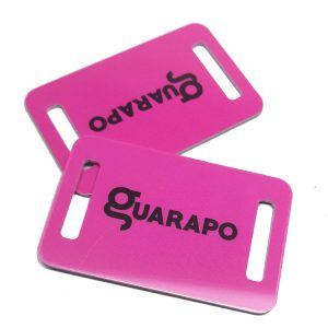 Small card design Ntag213 custom PVC Non-Standard card for wristband