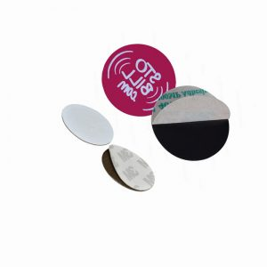 Anti metal Token Tag, EM4305 ID changeable Coin Tag For Entrance
