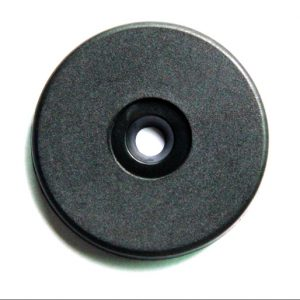 TK4100 Diameter 30mm ABS round rfid ID patrol tag