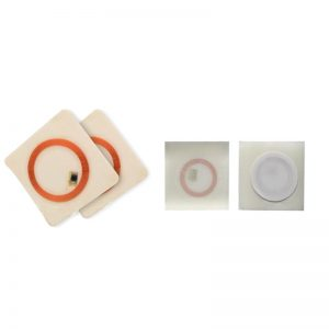 LF RFID Labels with EM4305 copper coil Sticker for time attendance system