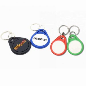 Waterproof RFID Keyfob With Ntag215 Chip For Rental Apartment