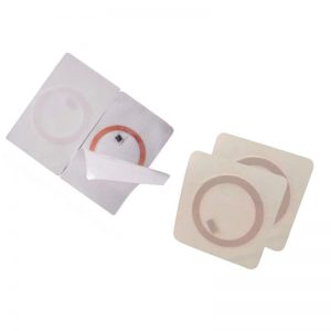 125khz Diameter 35mm LF RFID Labels copper coil Sticker with T5577 Chip