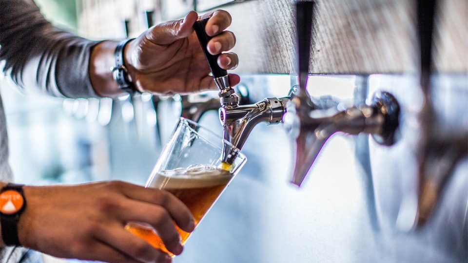 RFID Pours Beer at Shopping Market
