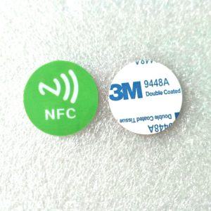Waterproof RFID token tag with 13.56mhz Mifare Desfire 2k Chip