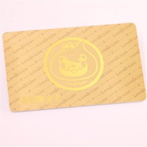 960mhz ABS UHF RFID Card With Copyable and Write For Car Tracking